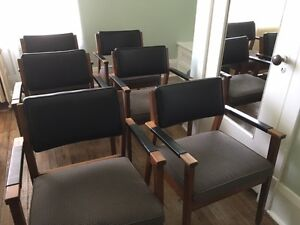 ** Chairs!! 6 Former Boardroom Chairs!