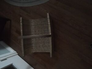 Wicker log holder