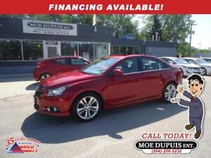 2011 Chevrolet Cruze LT Turbo+ RS EXTRA CLEAN SPORTY SEDAN!!