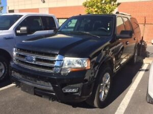2017 Ford Expedition Max Limited 4X4+CUIR+TOIT