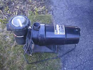 Pompe pour piscines Jacuzzi 1 1/2 hp
