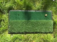 Colin Montgomerie Dual sided Golf Mat
