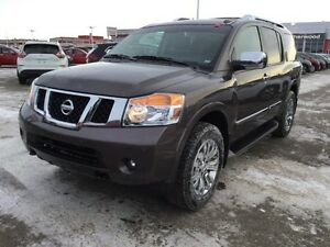 2015 Nissan Armada PLATINUM 4X4 Rear DVD,  Leather,  3rd Row,  B