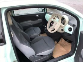FIAT 500 MINT GREEN ,EXCELLENT CONDITION INSIDE AND OUT,LOW MILEAGE,
