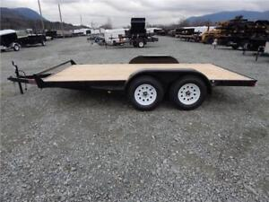 NEW 14' 7000lb CAR EQUIPMENT UTILITY FLATDECK TRAILER