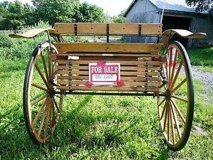 Single Horse Hardwood Road Cart Belleville Belleville Area image 2