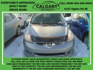 2007 Honda Fit Sport *$99 DOWN EVERYONE APPROVED*