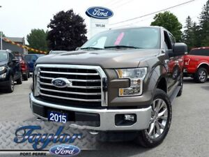 """2015 Ford F-150 XLT *5.0L V8* *20"""" RIMS* * 302A PACKAGE*"""