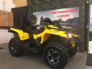 CAN-AM OUTLANDER XT 2 UP, LOW KMS FOR $79 BI-WEEKLY