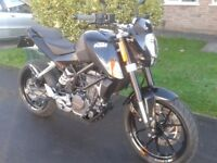 Mint KTM Duke 200 - price reduced