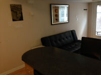Furnished bachelor available for daily or weekly rental