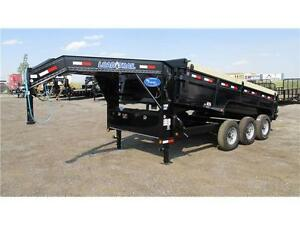 2016 GN 16' DUMPBOX TRIPLE AXLE (21,000 LB GVW)