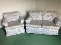 Marks and Spencer Double Sofa and chair