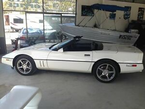 1988 Chevrolet Corvette  White 4 Speed Automatic Convertible Biggera Waters Gold Coast City Preview