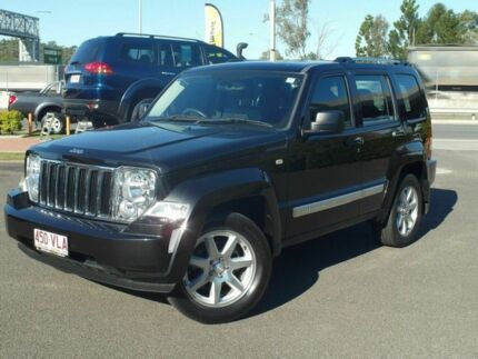 2012 Jeep Cherokee KK MY12 Limited (4x4) Black 4 Speed Automatic Wagon Wacol Brisbane South West Preview