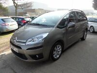 CITROEN C4 PICASSO 1.6 GRAND VTR PLUS HDI 5d 110 BHP FULL SERVICE HIS (brown) 2011