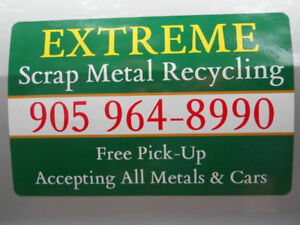 EXTREME Scrap Metal Recycling-100% Free Pick-Up