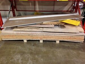 No longer needed: 4ft x 8ft Plywood! 20 sheets!