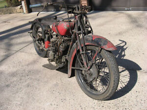 Wanted 1932-41 Indian junior scout pony 30.50 parts or bikes Sarnia Sarnia Area image 2