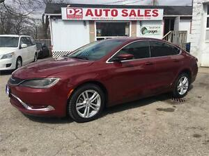 2015 Chrysler 200 LOW KM/Gas Saver/Certified