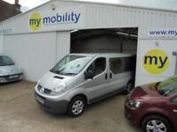 Renault Trafic AUTOMATIC 4 Seat Wheelchair Scooter Accessible Disability WAV.