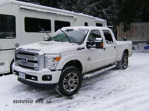 2016 Ford F-350 Platinum Crewcab shortbox