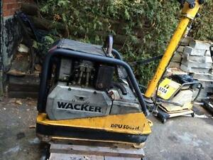 WACKER REVERSIBLE TAMPER COMPACTOR MODEL 5045A + FREE SHIPPING + WARRANTY !!!!!!!!!!!!!!!!!!!!!!!