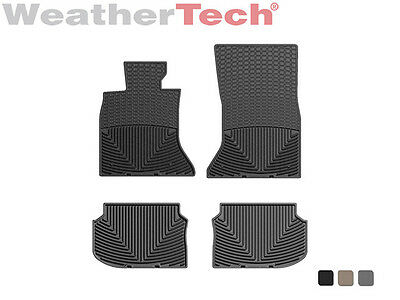 Weathertech All Weather Floor Mats For Bmw 5 Series   2011 2013