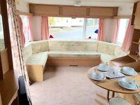 Cheap Starter caravan for sale! dog friendly, fishing lake, beach access,sw imming pool, sportscourt