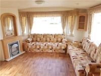 perfect 3 bed 8 birth, family starter caravan on the Northumberland coast, with direct beach access