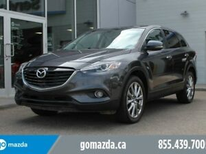 2015 Mazda CX-9 GT AWD LEATHER SUNROOF B/U CAM UNLIMITED KM WARR