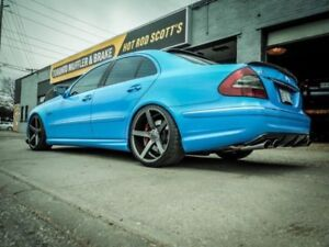 Mercedes Benz MB Performance EXHAUST Mods; Systems