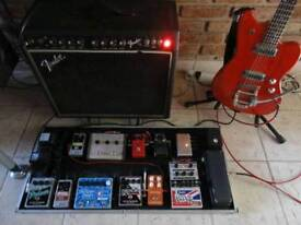 EHX English Muffin - REAL TUBE Overdrive & Distortion Guitar Effects Pedal