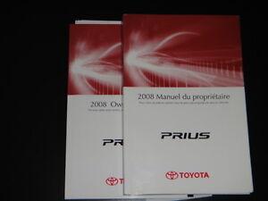 MANUEL DU PROPRIÉTAIRE - PRIUS 2008