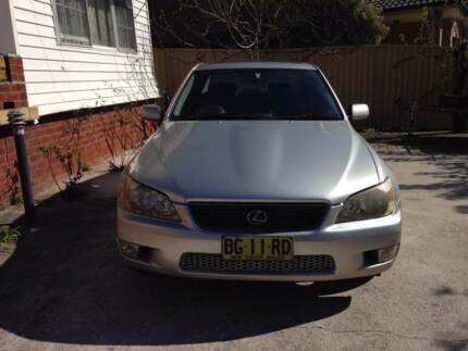 2001 Lexus IS300 Sedan South Wentworthville Parramatta Area Preview