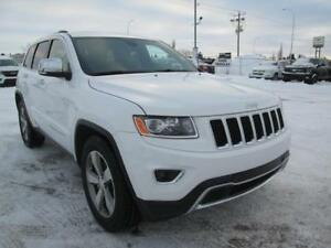 2015 Jeep Grand Cherokee Limited 4X4 ~ Sunroof ~ Heated Leather
