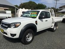 2011 Ford Ranger PK XL (4x4) White 5 Speed Manual Super Cab Chassis Newcastle 2300 Newcastle Area Preview