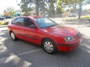 2004 Hyundai Elantra XD 2.0 HVT Ralley Red 4 Speed Automatic Hatchback Alberton Port Adelaide Area Preview