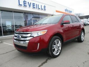 2013 Ford Edge Limited/CUIR/TOIT/GPS
