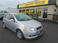 2010 Chevrolet Aveo LT -SUNROOF!!!- GUARANTEED FINANCING!!