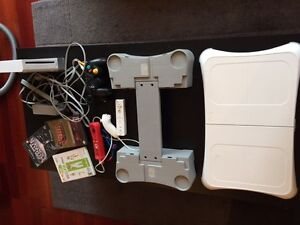 Nintendo Wii + Wii fit + Step-up