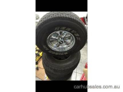 """F150 crager wheel 5 stud for sale 4x4 wheels f100 f250 f350 15"""" Southbank Melbourne City Preview"""