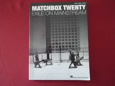 Matchbox 20 - Exile on Mainstream . Songbook Notenbuch Piano Vocal Guitar PVG
