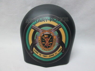 Harley Davidson Custom Horn Cover - Military Police Assist Protect Defend