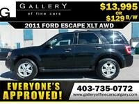 2010 Ford Escape XLT 4WD $129 bi-weekly APPLY NOW DRIVE NOW
