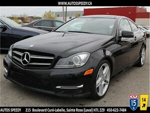 2013 MERCEDES C350C 4MATIC COUPE/NAVIG/TOIT PANORAMIC/XENON/
