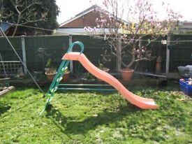 Childs garden wavey slide