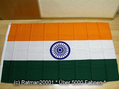 Fahnen Flagge Indien Sonderposten - 90 x 150 cm