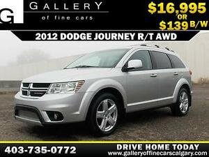 2012 Dodge Journey R/T AWD  $139 BI-WEEKLY APPLY NOW DRIVE NOW