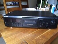 Sony Cassette Deck - TC KE400S - For parts or repair